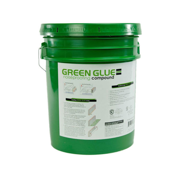 Green Glue Noiseproofing Compound 5 Gallon Pail
